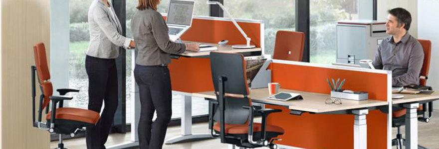 Bureaux assis debout
