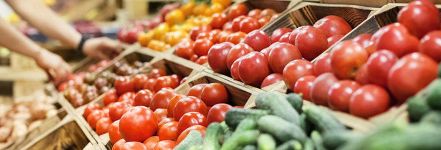 Magasin fruit et légume